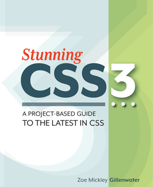 Stunning CSS3 book cover